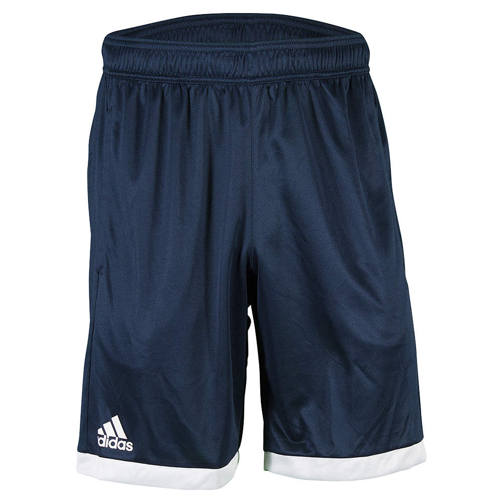 Men's Court Tennis Short Collegiate Navy And White