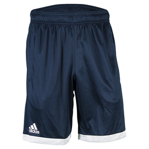 Men`s Court Tennis Short Collegiate Navy and White