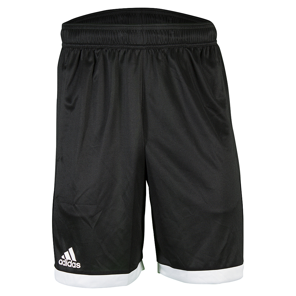 Men's Court Tennis Short Black And White