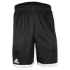 ADIDAS Men`s Court Tennis Short Black and White