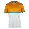 ADIDAS Boys` Court Tennis Tee EQT Orange and White