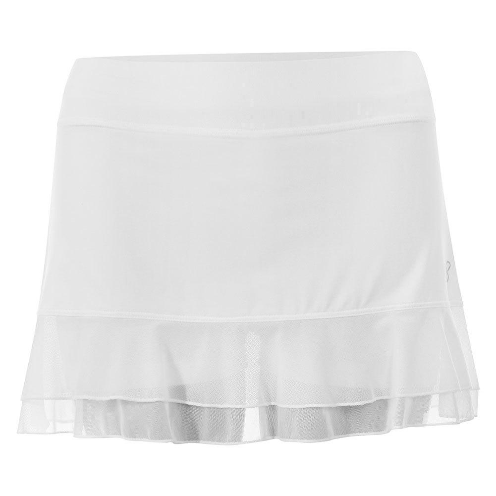 Women's White Lily 13 Inch Tennis Skort