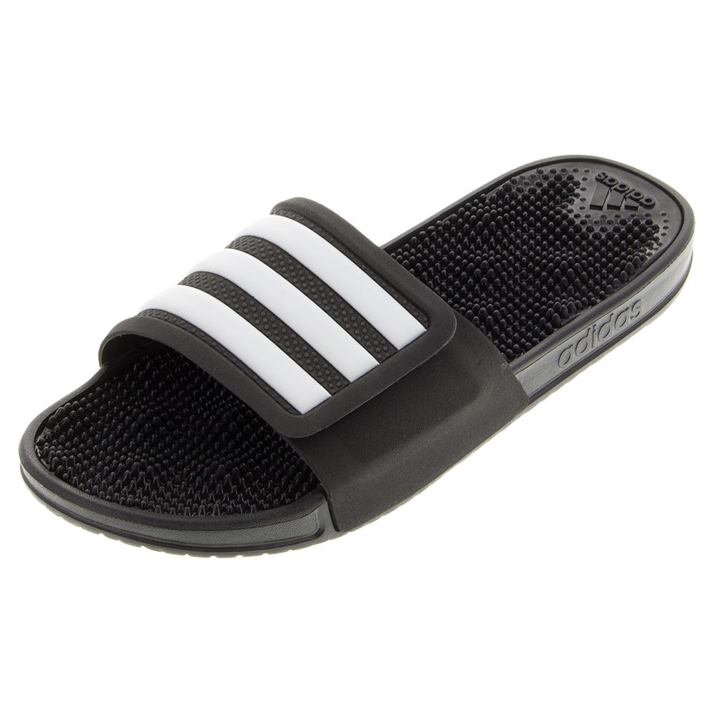 Men's Adissage 2.0 Shoes Black And White
