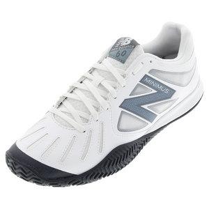 Men`s 60v1 D Width Tennis Shoes White and Black