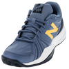 Men`s 786v2 D Width Tennis Shoes Gray and Imperial by NEW BALANCE