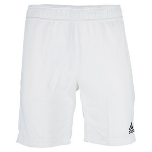 Men`s Barricade Climachill 8.5 Inch Tennis Short White and Black