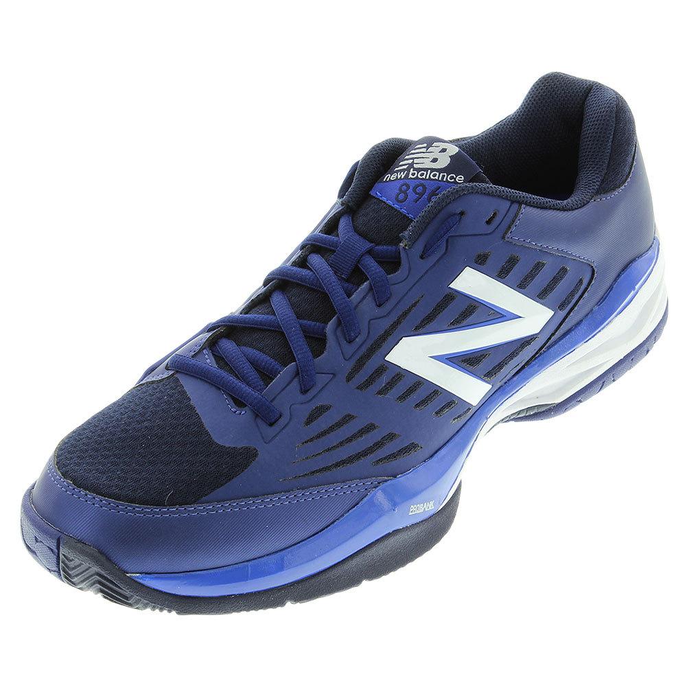 Men's 896v1 D Width Tennis Shoes Blue