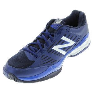 Men`s 896v1 D Width Tennis Shoes Blue