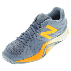 Women`s 1296v2 B Width Tennis Shoes Crater and Yellow