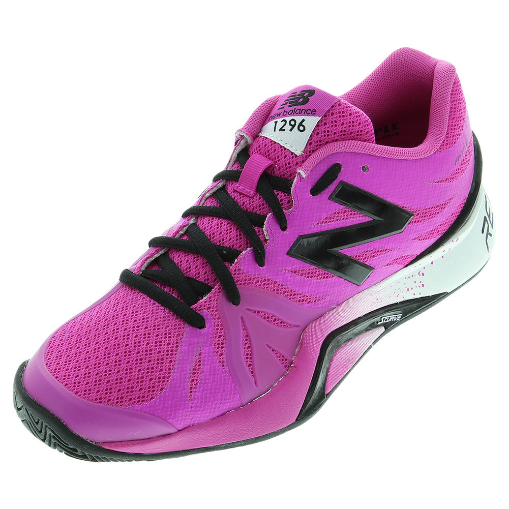 Women's 1296v2 B Width Tennis Shoes Dragonfly And Black