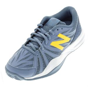 Women`s 786v2 B Width Tennis Shoes Gray and Yellow