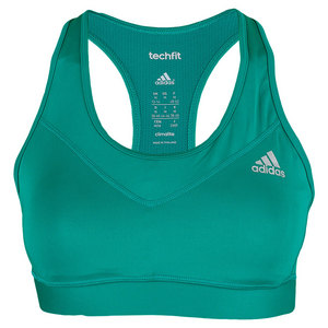 adidas WOMENS TECHFIT MOLDED CUP BRA EQT GN