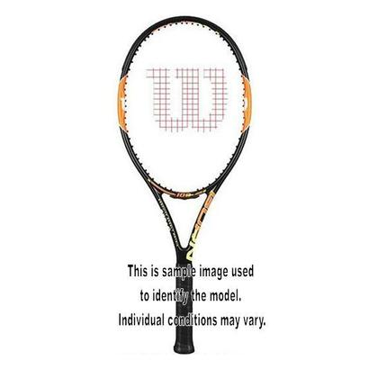 WILSON BURN 100 TEAM USED TENNIS RACQUET 4_3/8
