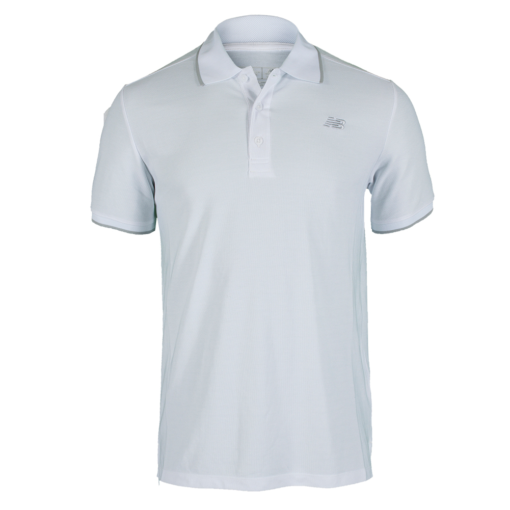 Men's Challenger Classic Tennis Polo White
