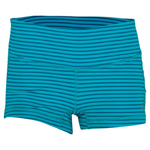 Women`s Premium Performance Tennis Hot Short Sea Glass