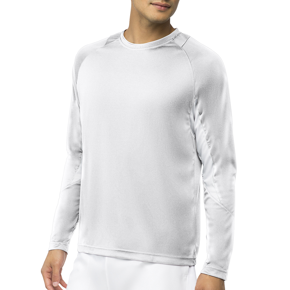Men's Core Long Sleeve Tennis Top White