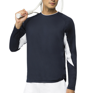 Men`s Core Long Sleeve Tennis Top Peacoat