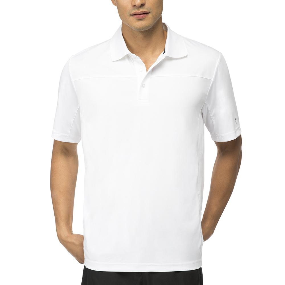 Men's Core Tennis Polo White