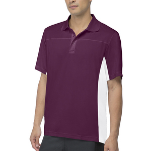 Men`s Core Tennis Polo Team Maroon