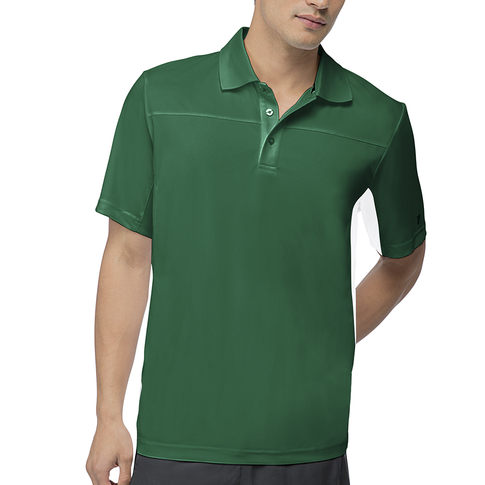 Men's Core Tennis Polo Team Forest Green