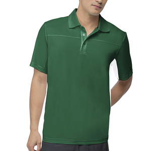 Men`s Core Tennis Polo Team Forest Green
