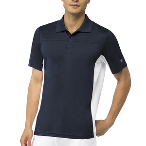 Men`s Core Tennis Polo Peacoat