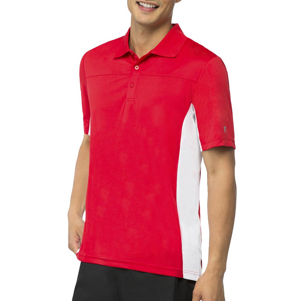Men's Core Tennis Polo Crimson