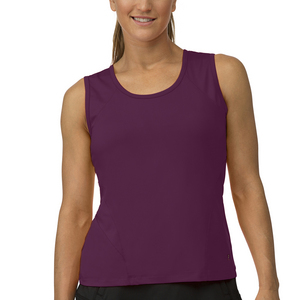 Women`s Core Full Coverage Tennis Tank Team Maroon