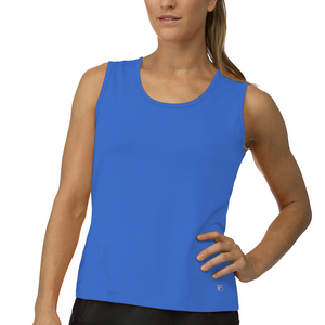 Women`s Core Full Coverage Tennis Tank Team Royal