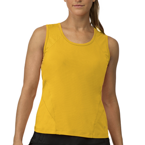 Women`s Core Full Coverage Tennis Tank Team Gold