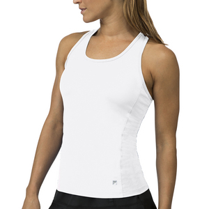 Women`s Core Racerback Tennis Tank White