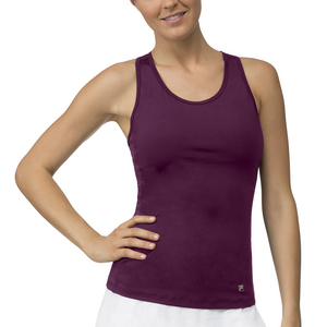 Women`s Core Racerback Tennis Tank Team Maroon