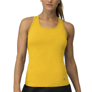 Women`s Core Racerback Tennis Tank Team Gold