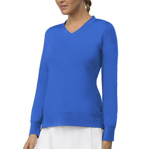 Women`s Core Long Sleeve Tennis Top Team Royal