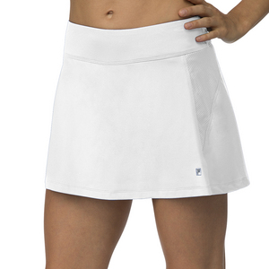 Women`s A-Line Tennis Skort White