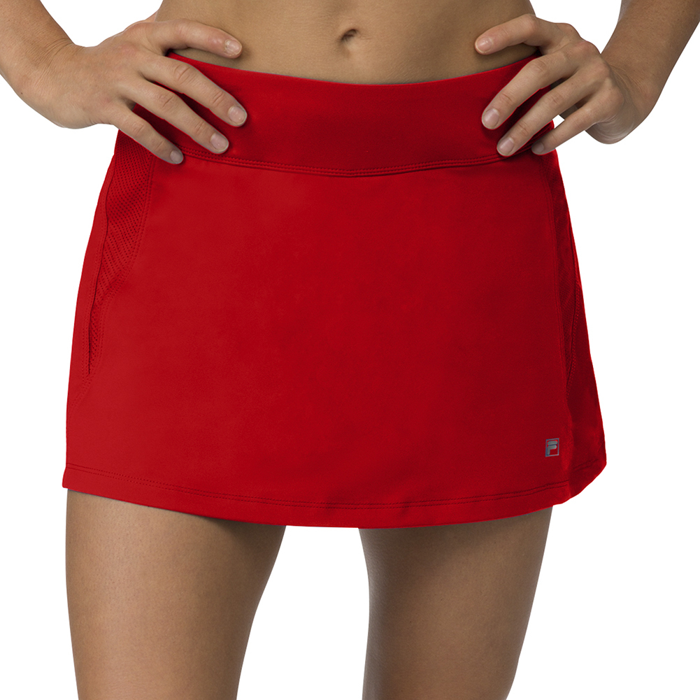 Women's A- Line Tennis Skort Crimson