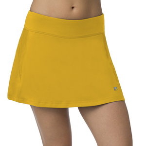 Women`s A-Line Tennis Skort Team Gold