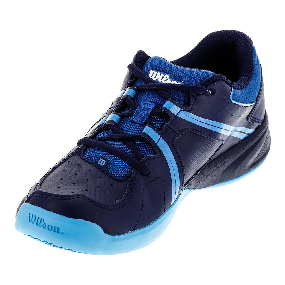 Juniors ` Envy Tennis Shoes Deep Water And Navy
