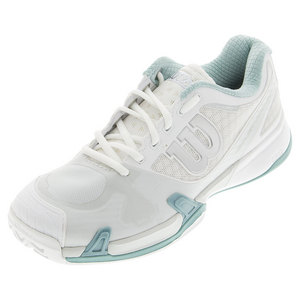 Women`s Rush Pro 2.0 Tennis Shoes White and Ice Gray