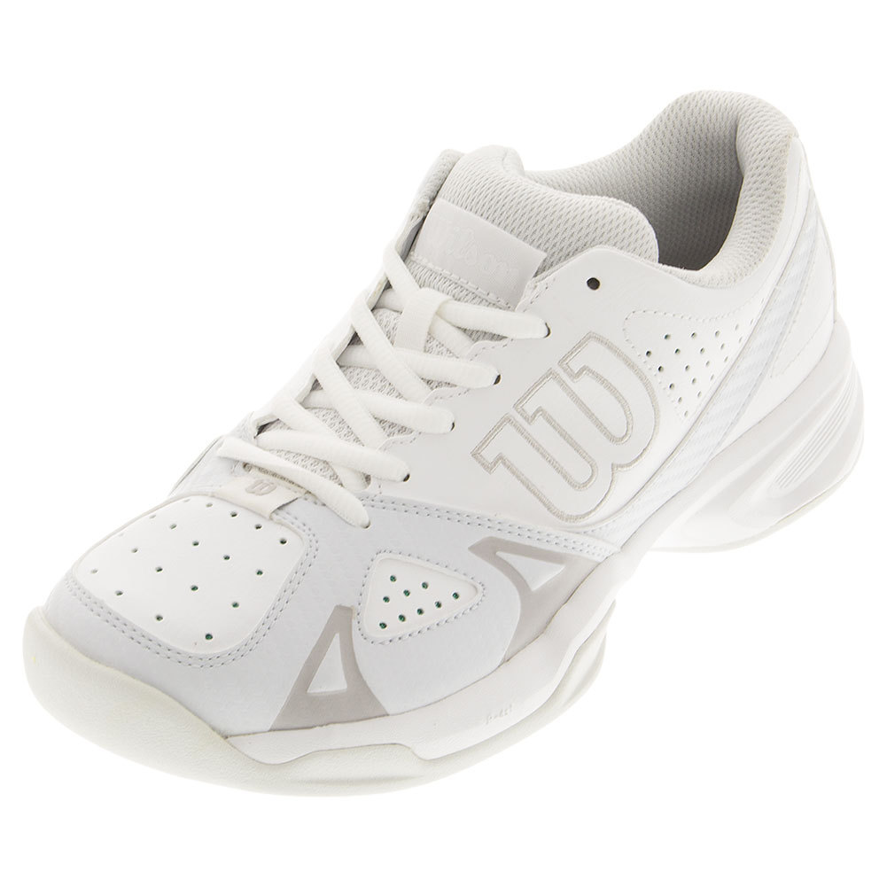 Women's Rush Open 2.0 Tennis Shoes White And Ice Gray