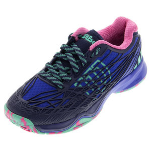Women`s Kaos Tennis Shoes Blue Iris and Navy