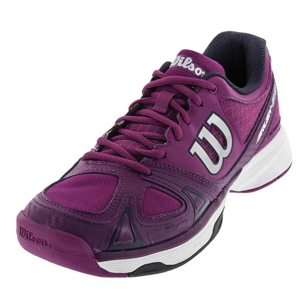 Women's Rush Evo Tennis Shoes Azalee Pink And Plumberry