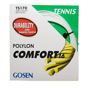 GOSEN POLYLON COMFORT TENNIS STRINGS 16G/1.30