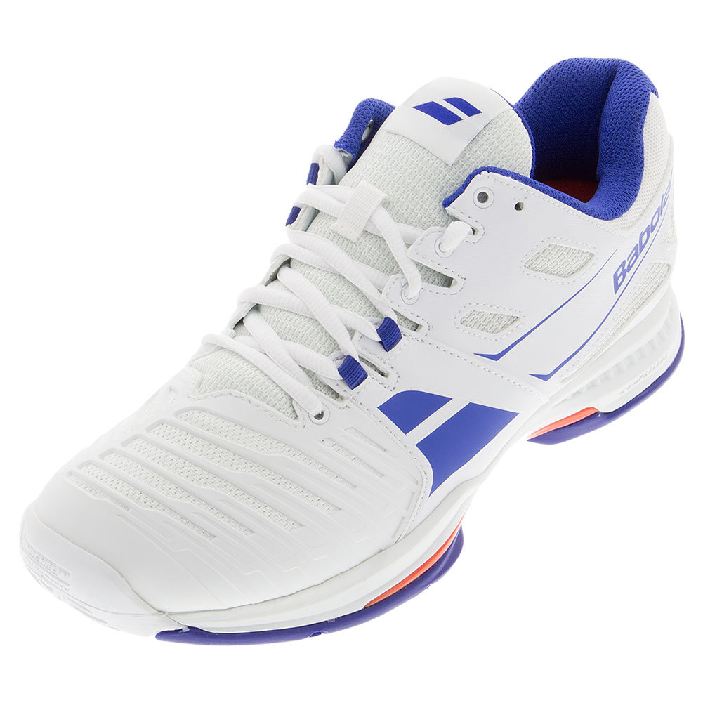 Men's Sfx 2 All Court Tennis Shoes White And Blue