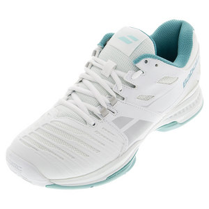 Women`s SFX2 All Court Tennis Shoes White and Blue