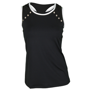 Women`s Marlee Tennis Tank Black