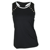 CHRISSIE BY TAIL Women`s Marlee Tennis Tank Black