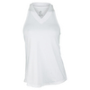 JOFIT Women`s Jacquard Betsy Tennis Tank White