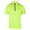 Men`s Short Sleeve Ultra Dry Tennis Polo X64_FLUORESCENT_YL