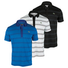 LACOSTE Men`s Short Sleeve Ultra Dry Printed Pattern Tennis Polo